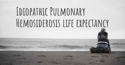 Idiopathic Pulmonary Hemosiderosis life expectancy