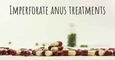 Imperforate anus treatments