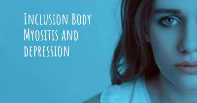 Inclusion Body Myositis and depression