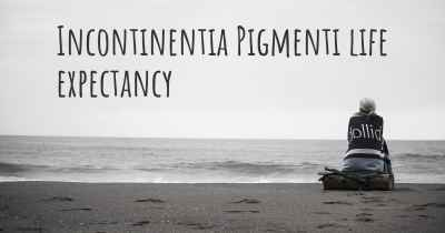 Incontinentia Pigmenti life expectancy