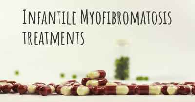 Infantile Myofibromatosis treatments