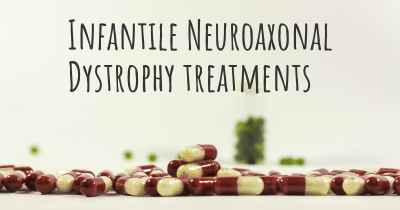 Infantile Neuroaxonal Dystrophy treatments