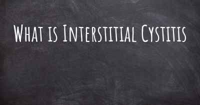 What is Interstitial Cystitis