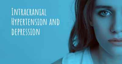 Intracranial Hypertension and depression