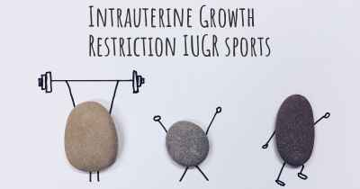 Intrauterine Growth Restriction IUGR sports
