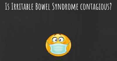 Is Irritable Bowel Syndrome contagious?