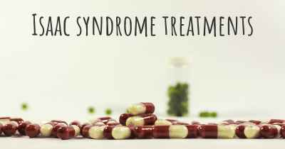 Isaac syndrome treatments