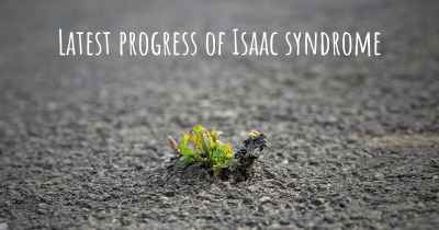 Latest progress of Isaac syndrome