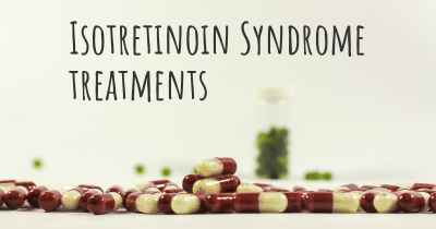 Isotretinoin Syndrome treatments