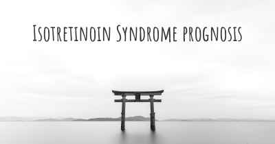 Isotretinoin Syndrome prognosis