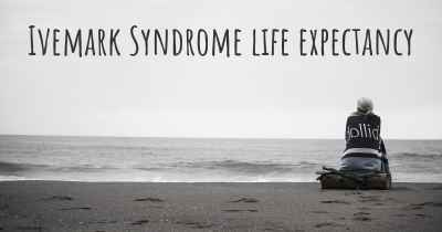 Ivemark Syndrome life expectancy
