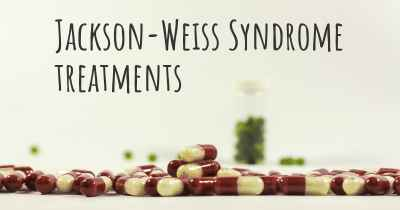Jackson-Weiss Syndrome treatments