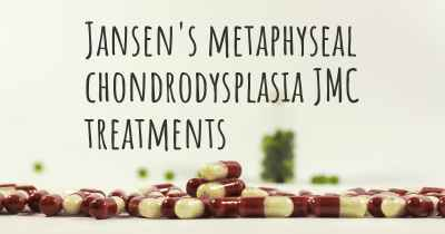 Jansen's metaphyseal chondrodysplasia JMC treatments