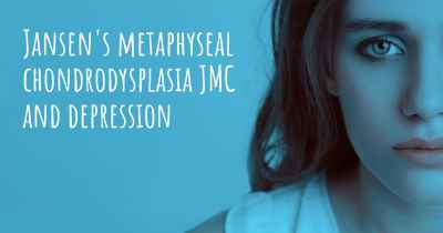 Jansen's metaphyseal chondrodysplasia JMC and depression