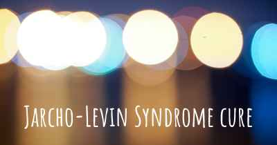 Jarcho-Levin Syndrome cure