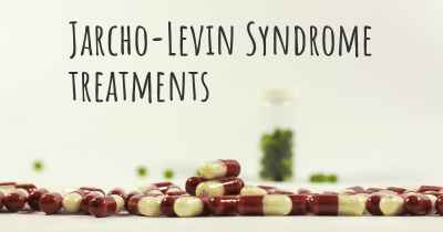 Jarcho-Levin Syndrome treatments