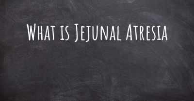 What is Jejunal Atresia