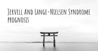 Jervell And Lange-Nielsen Syndrome prognosis
