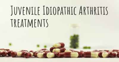 Juvenile Idiopathic Arthritis treatments