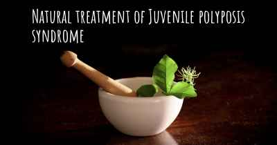 Natural treatment of Juvenile polyposis syndrome