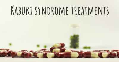 Kabuki syndrome treatments
