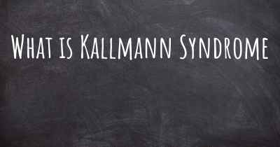 What is Kallmann Syndrome