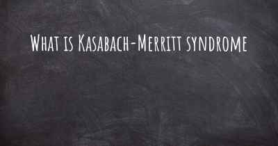 What is Kasabach-Merritt syndrome