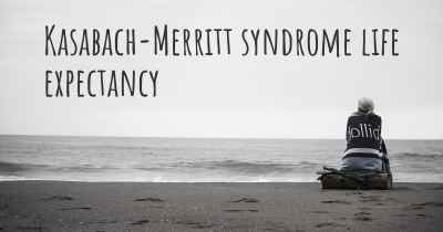 Kasabach-Merritt syndrome life expectancy
