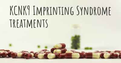 KCNK9 Imprinting Syndrome treatments
