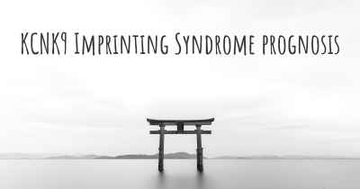 KCNK9 Imprinting Syndrome prognosis