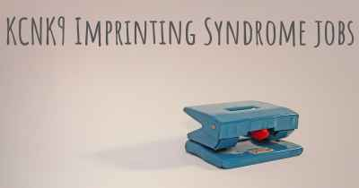 KCNK9 Imprinting Syndrome jobs