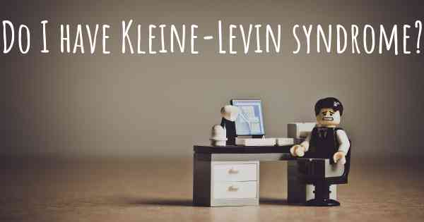 Kleine levin syndrome cases