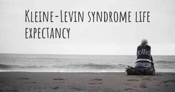 Kleine levin syndrome diagnosis