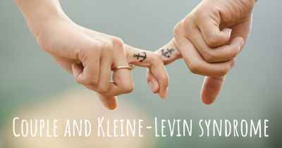 Couple and Kleine-Levin syndrome