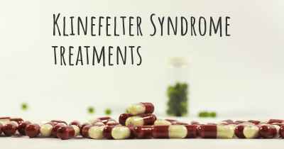 Klinefelter Syndrome treatments