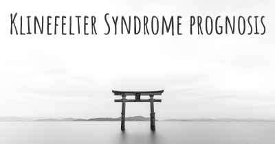 Klinefelter Syndrome prognosis