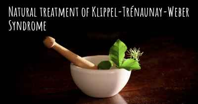 Natural treatment of Klippel-Trénaunay-Weber Syndrome