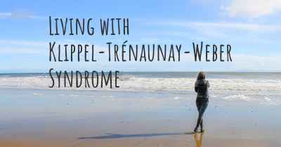 Living with Klippel-Trénaunay-Weber Syndrome