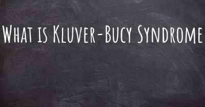 What is Kluver-Bucy Syndrome