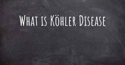 What is Köhler Disease