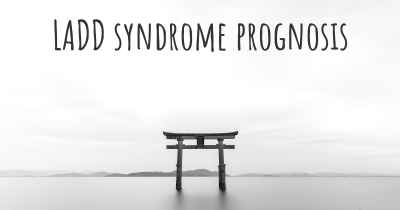 LADD syndrome prognosis
