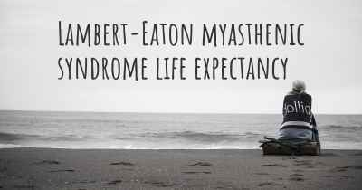 Lambert-Eaton myasthenic syndrome life expectancy