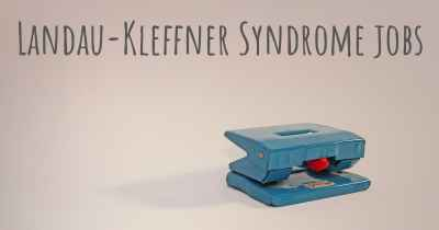 Landau-Kleffner Syndrome jobs