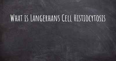 What is Langerhans Cell Histiocytosis