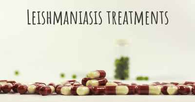 Leishmaniasis treatments