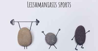 Leishmaniasis sports