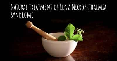 Natural treatment of Lenz Microphthalmia Syndrome