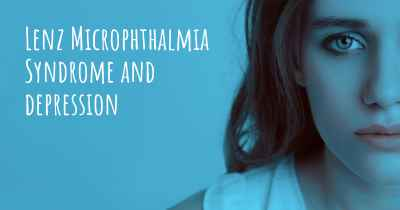 Lenz Microphthalmia Syndrome and depression