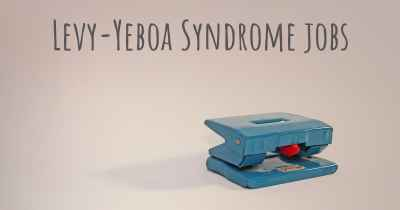 Levy-Yeboa Syndrome jobs