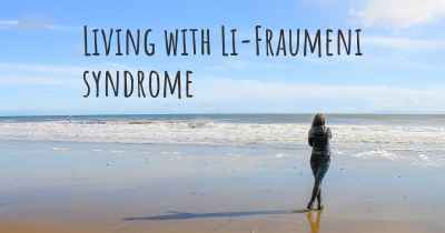 Living with Li-Fraumeni syndrome